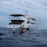 Lexi after her dive on the Great Barrier Reef #PADI20Millionth