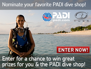 PADI Dive Shop Appreciation