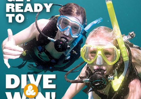 PADI Dive and Win Contest