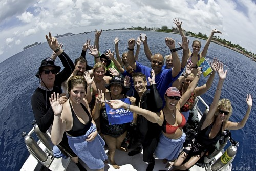 Team Blue Dive Boat ©Tanya G. Burnett