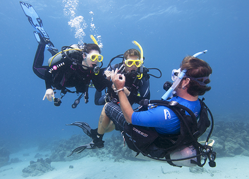 Become a Scuba Instructor with PADI
