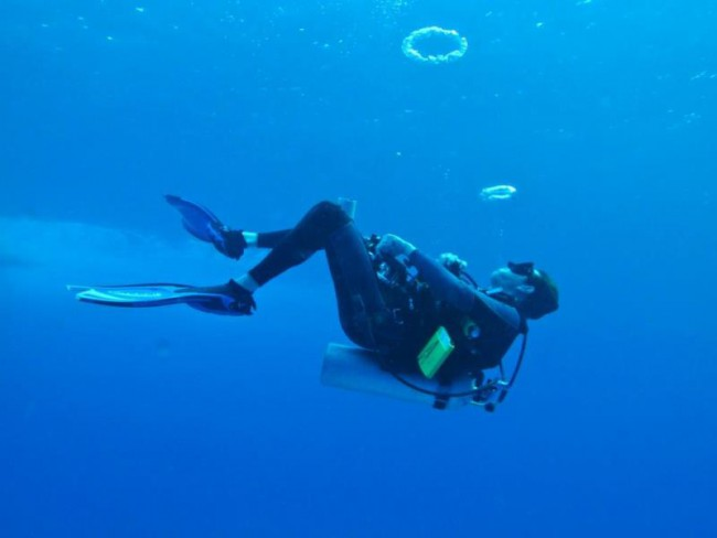 Full time Scuba Instructor Paul Quiggle