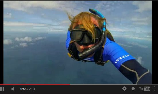 Skydiving followed by Scuba