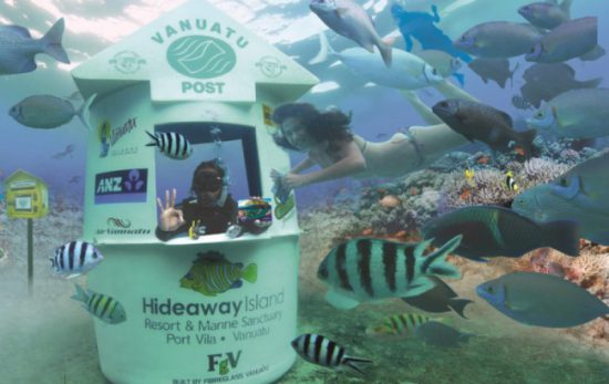 Vanuatu Underwater Post Office