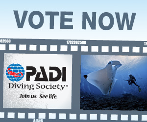 Vote for the 2014 PADI Diving Society membership card photo