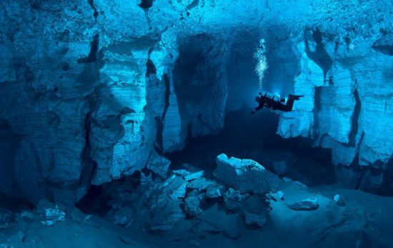 Orda Cave courtesy of Victor Lyagushkin