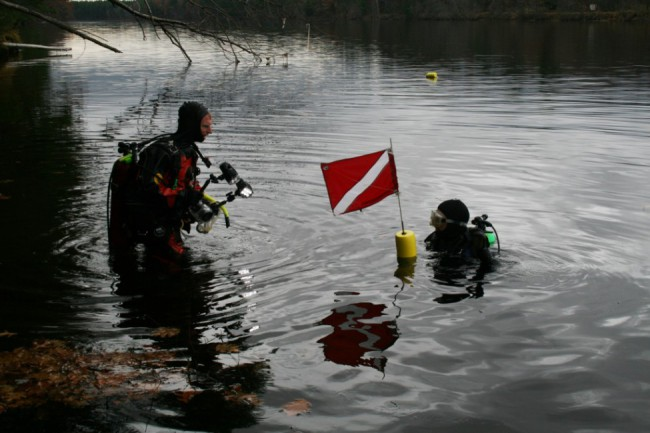 EPA scientific divers