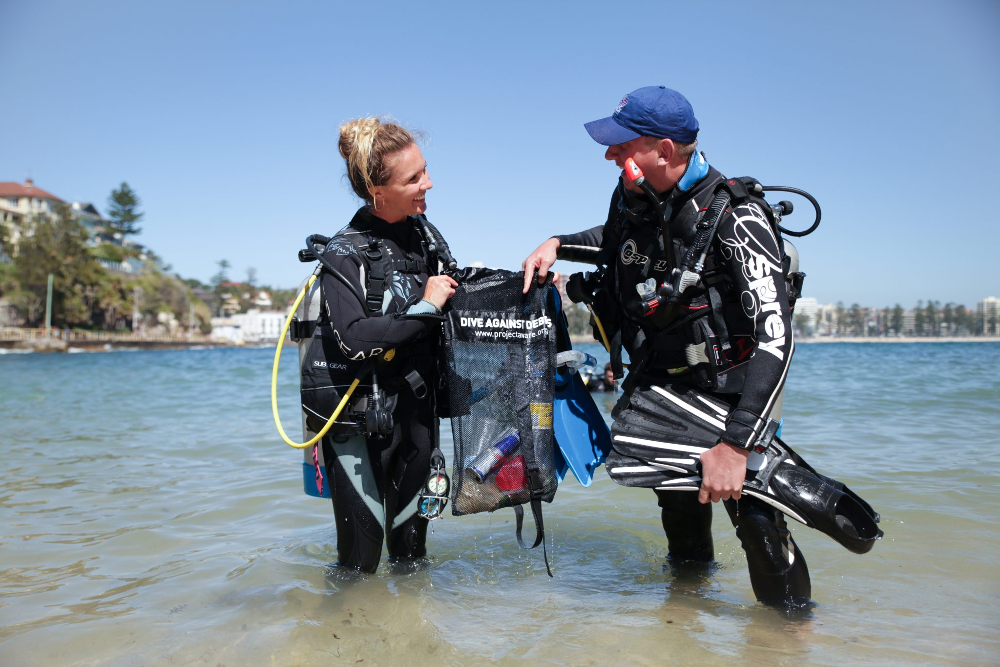 Project AWARE - Dive Against Debris - PADI - Shelly Beach - Australia