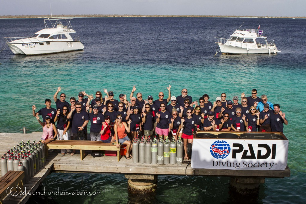 Total Sub Bonaire Group Shot