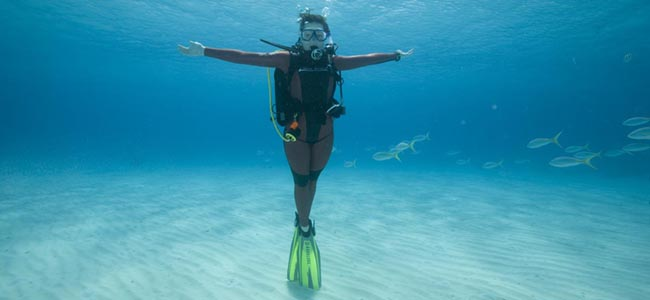 types of diving - peak performance buoyancy