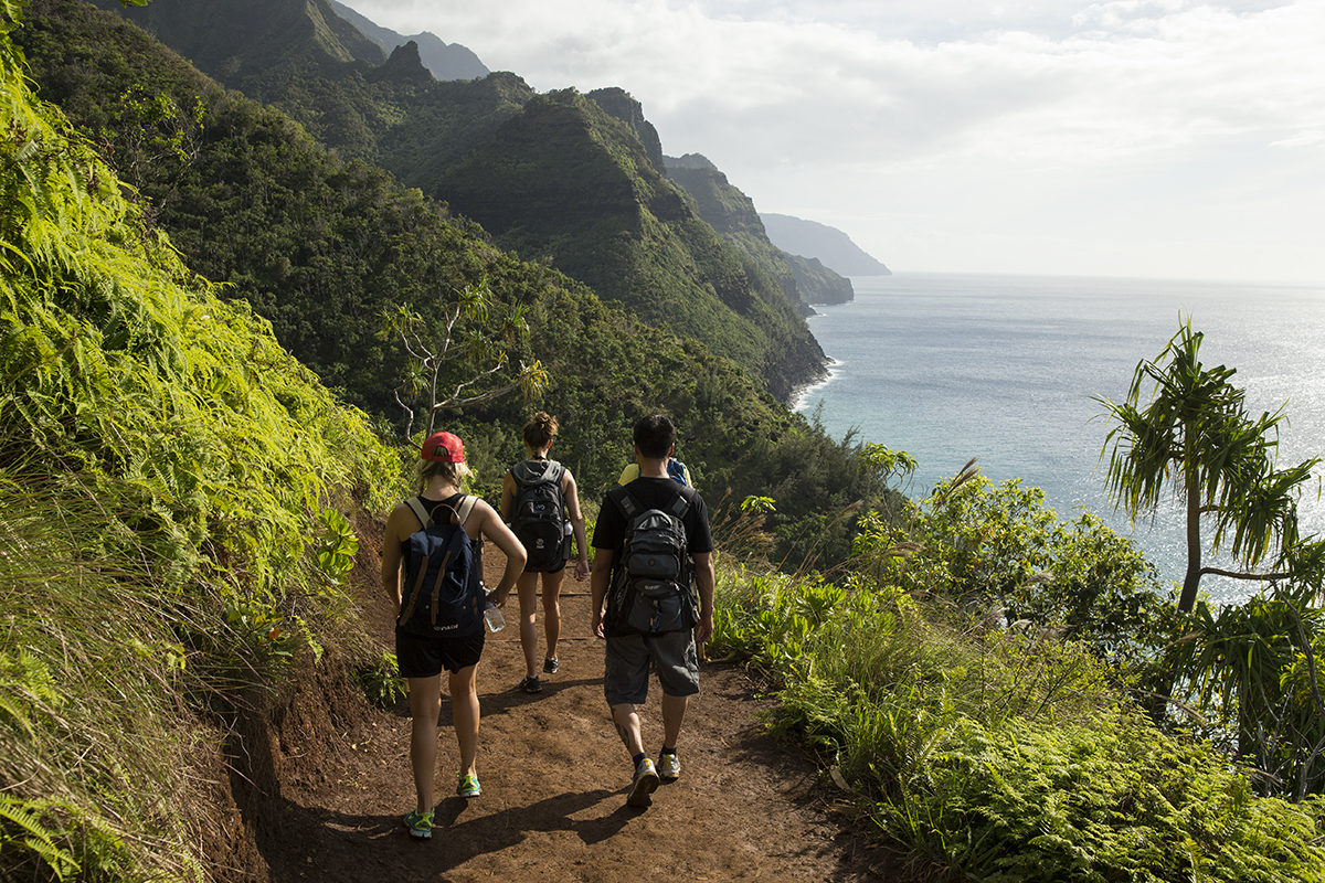 hawaii-group-hike