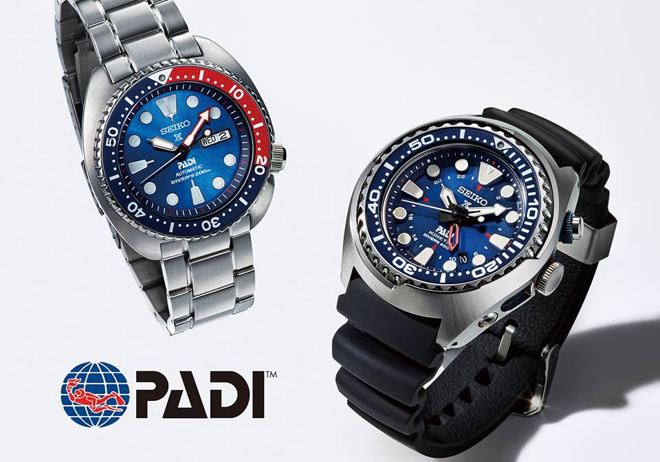 Seiko PADI Diver's Watches