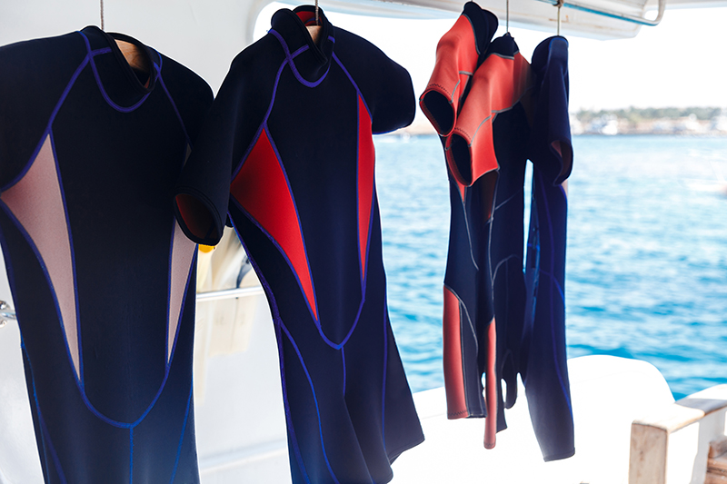 Scuba gear - wetsuits