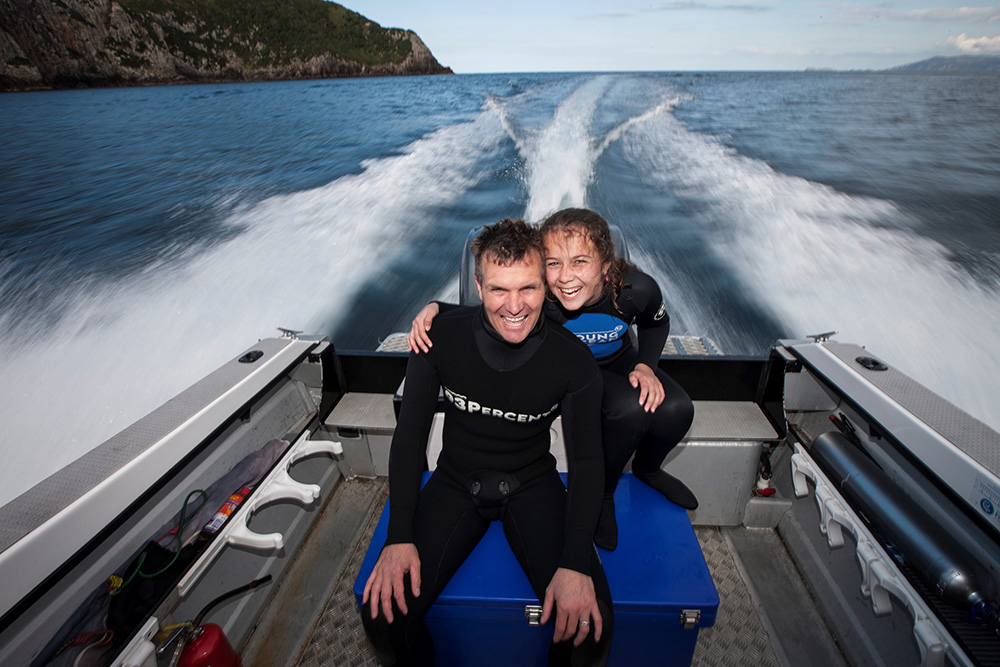 PADI AmbassaDiver - Riley and Steve Hathaway