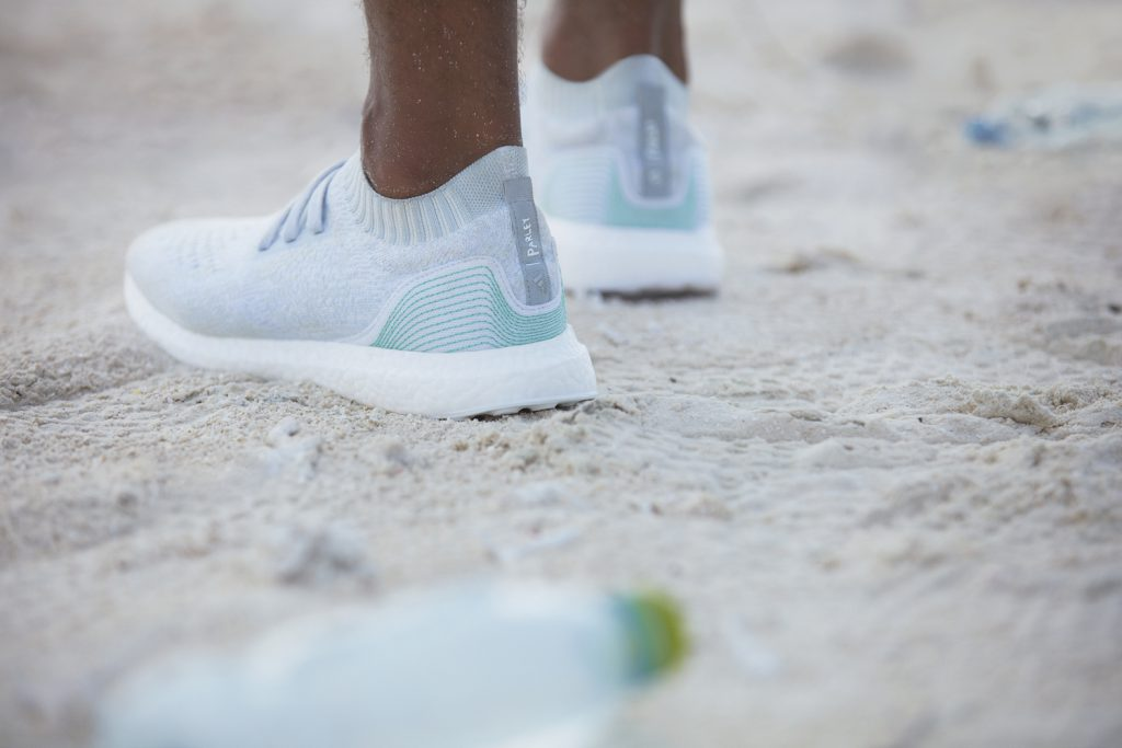 Parley for the Oceans and Adidas Footwear shoes