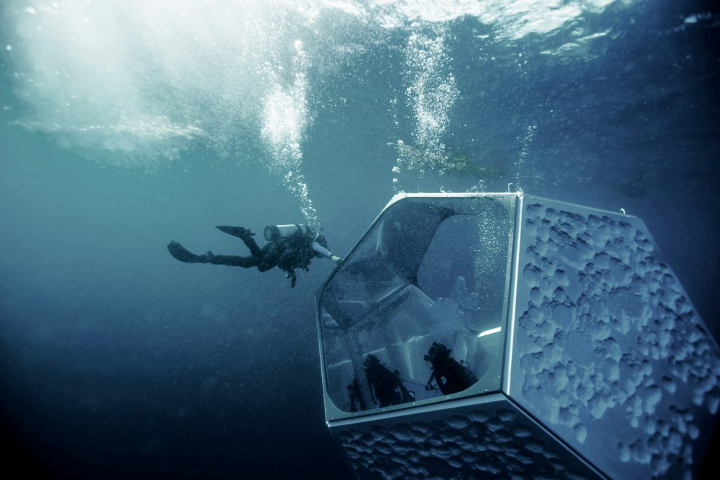 Parley for the Oceans Underwater Pavilions Catalina