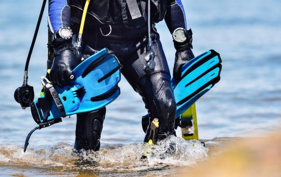 Scuba diving gear from shutterstock