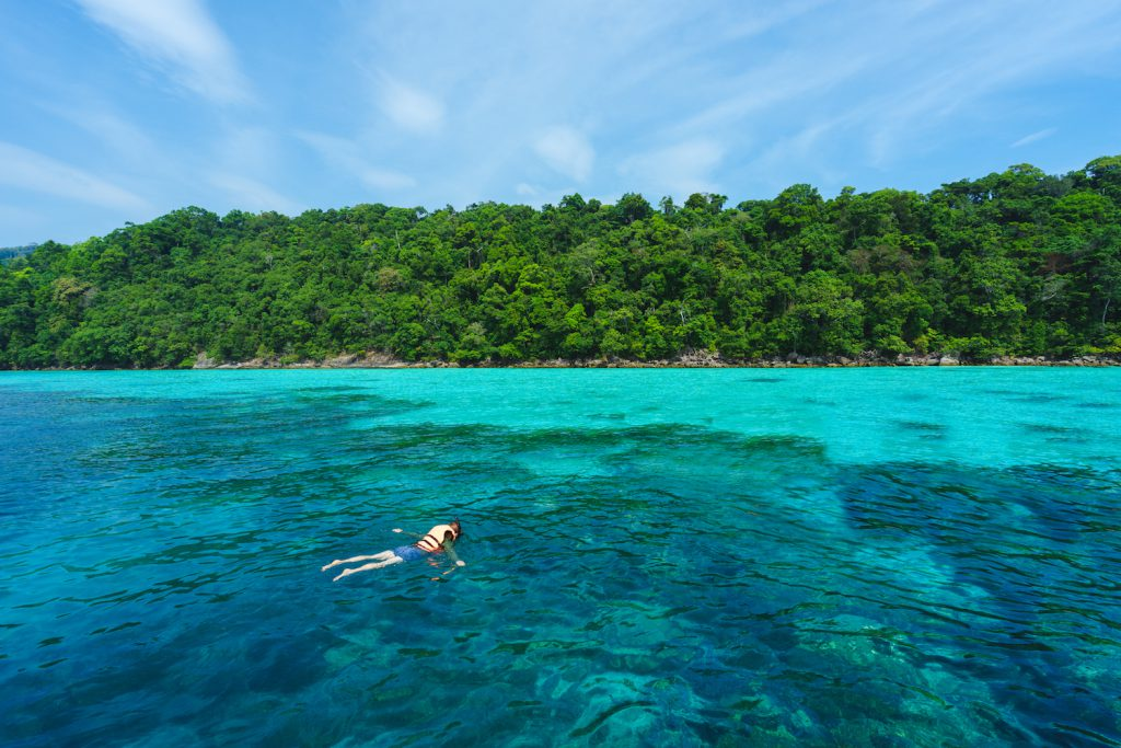 Snorkeling in thailand from shutterstock
