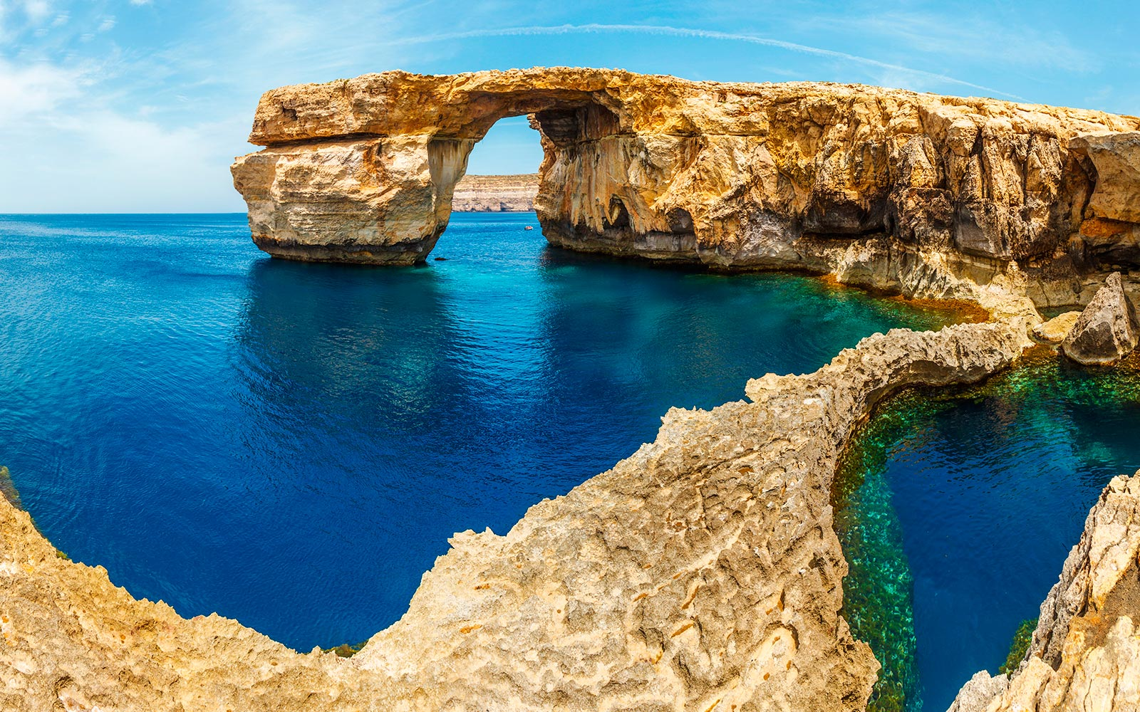malta das azure window. Black Bedroom Furniture Sets. Home Design Ideas