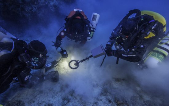 Excavating the Antikythera wreck
