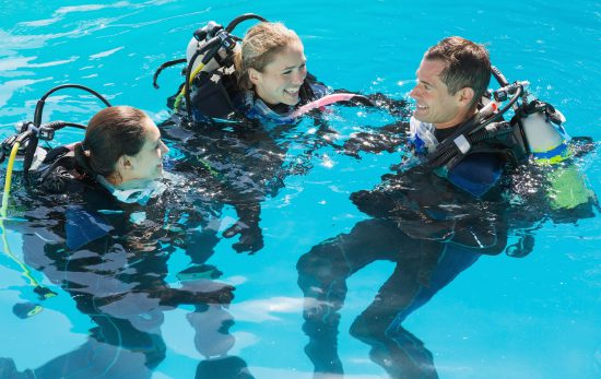 Experience teaching scuba diving 2