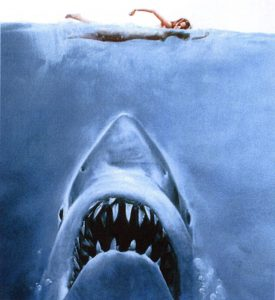 Shark week 2017 Jaws_Book_1975_Cover