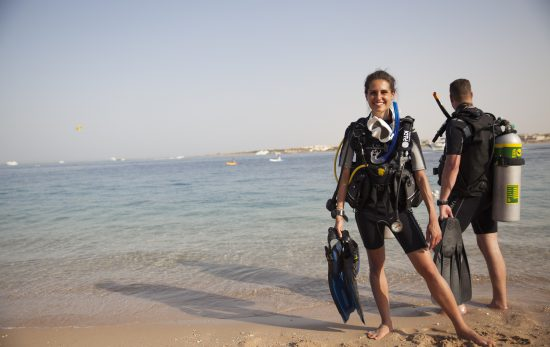 Scuba sport or leisure, divers 2