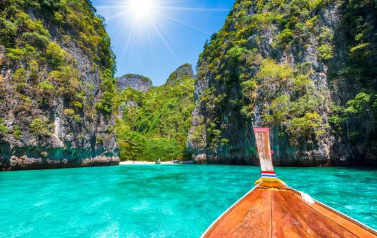 Thailand - boat - clear water