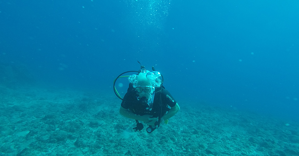 PADI Open Water Diver George Aitken