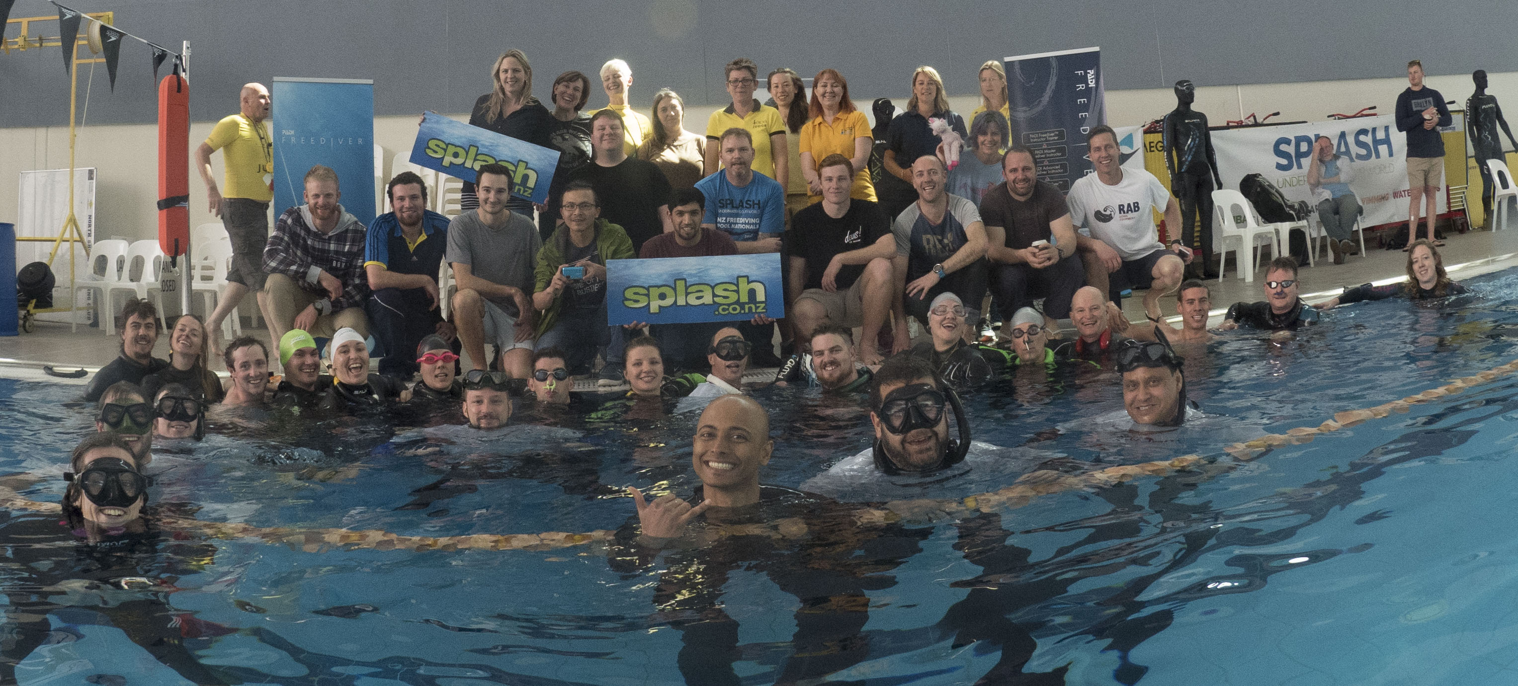 Splash Freediving NZ Pool Nationals