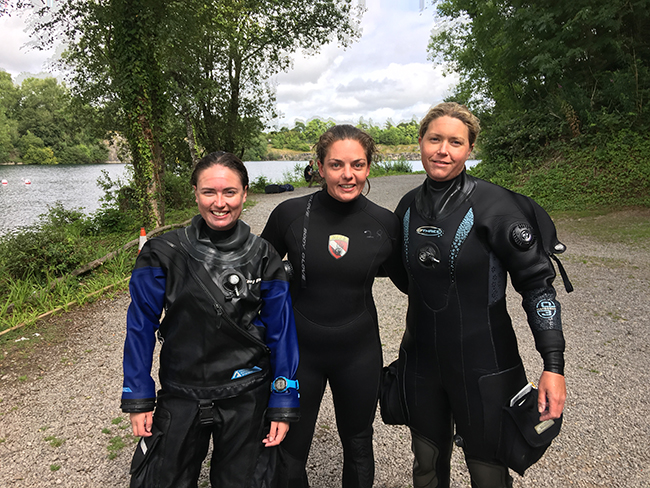 Katie Open Water Diver Course