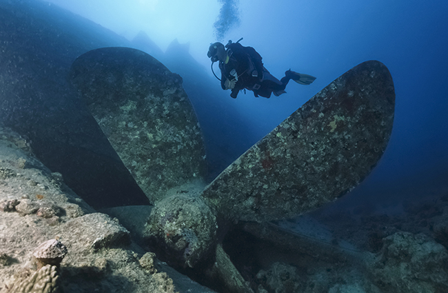 Wreck Diving Red Sea
