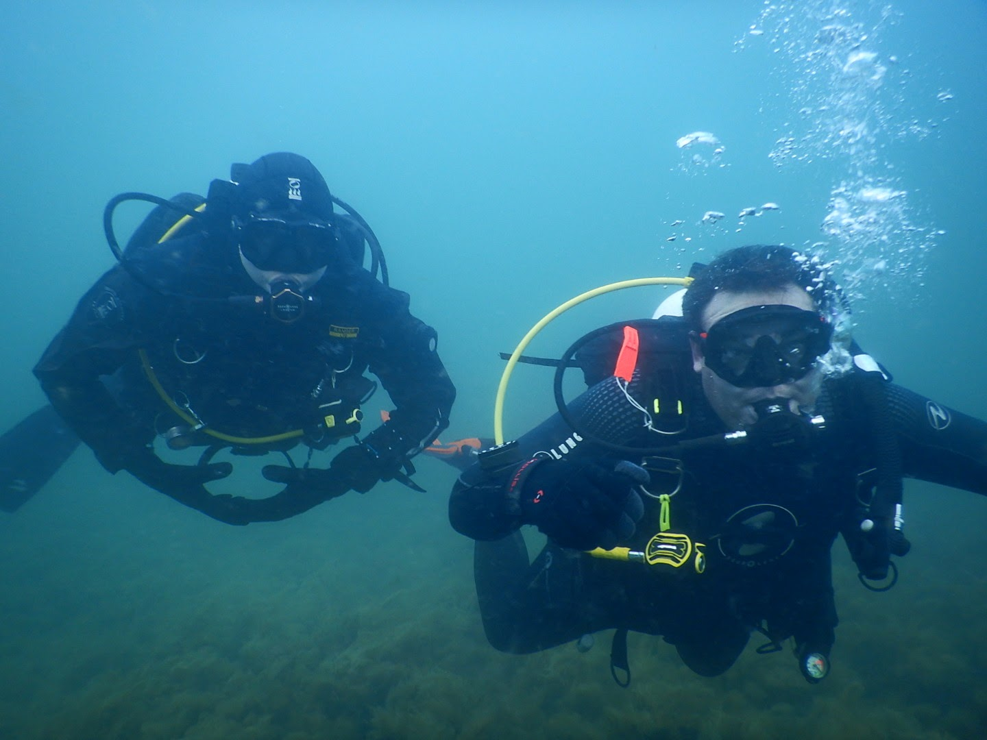 PADI Instructor JD Hendricks