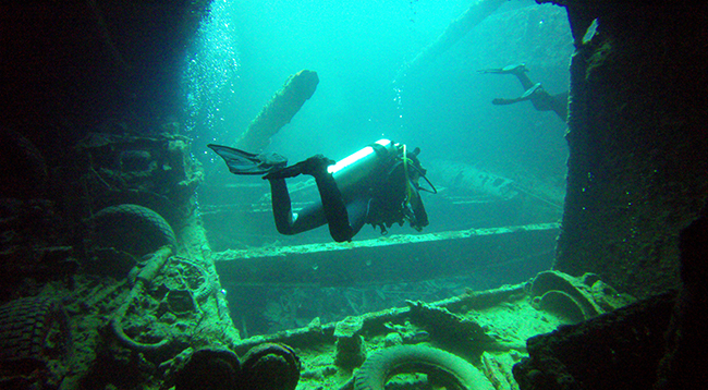 Olga Beltsova Wreck Diving