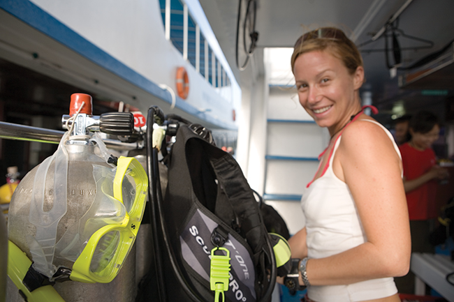 PADI Specialty Diver courses Boat Equipment