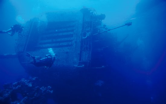 PADI Specialty Diver courses Deep and Wreck