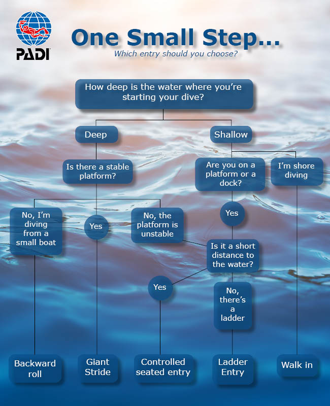 One Small Step entry method flowchart