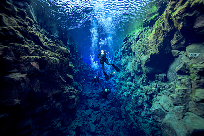 Cold Water Diving, Silfra