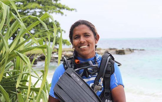 Female Course Director Zoona