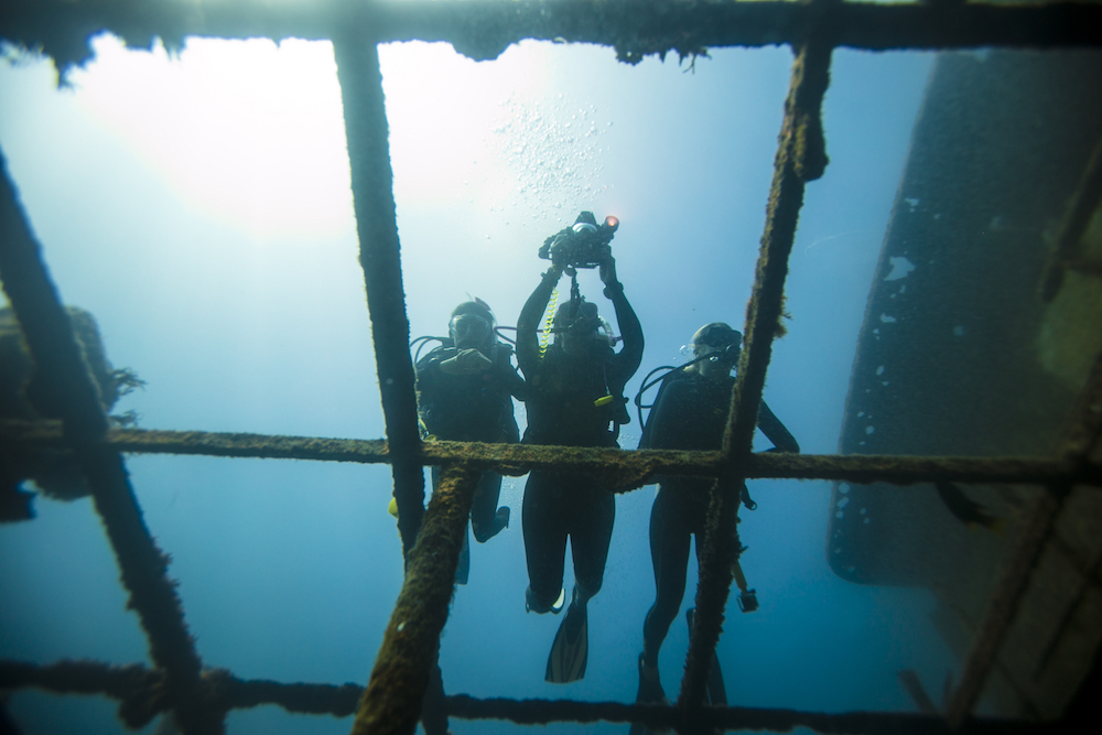 Look into taking the PADI Wreck Diver course.