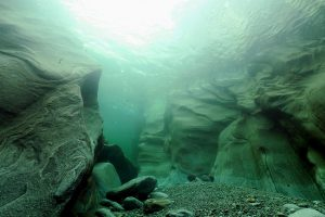 Underwater, Verzasca Valley