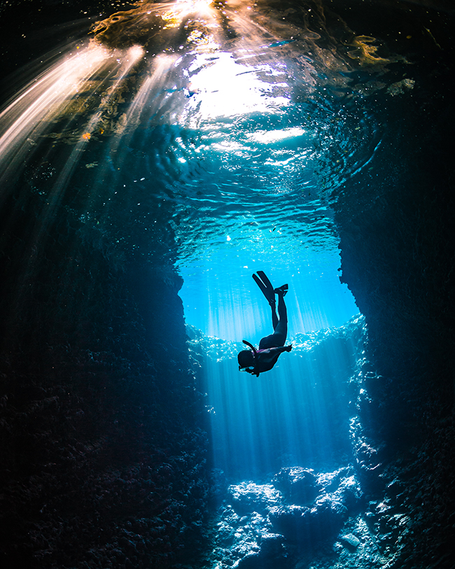 Expand your diving to Cavern diving