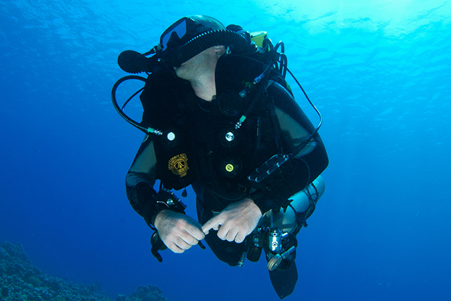 Expand your diving to Rebreather Diving
