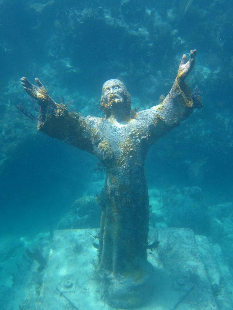 Christ of the Abyss Photo: Jack Fishman