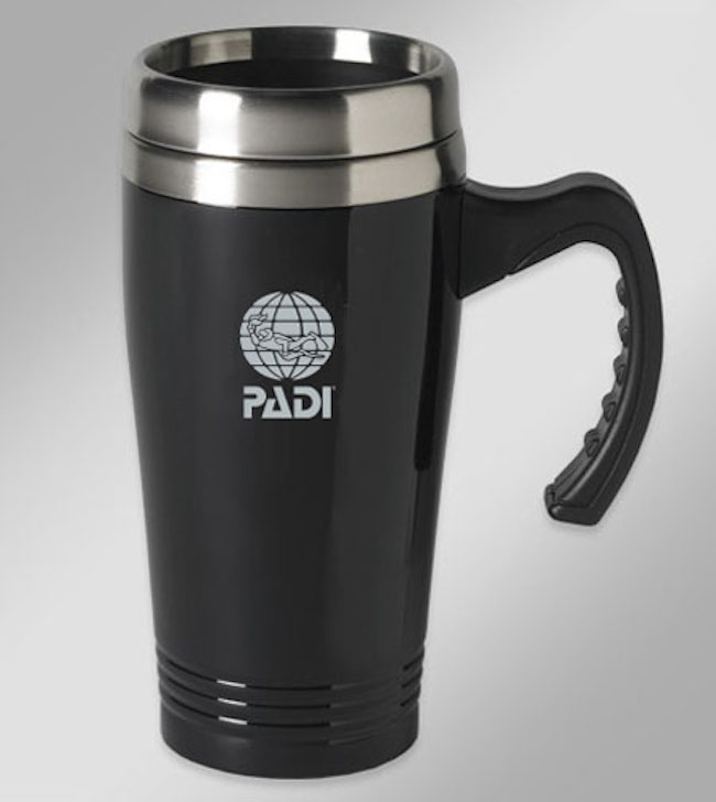 padi reusable mug
