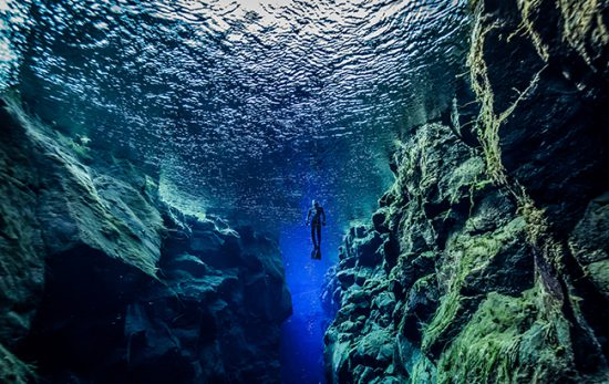 scuba bucket list destination - Silfra