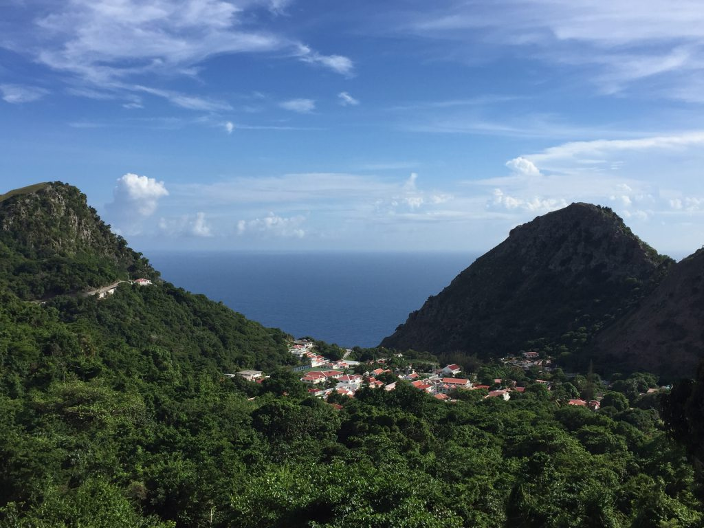scuba diving in saba