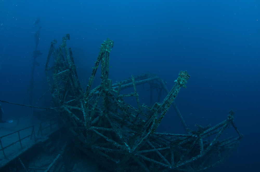 vandenberg wreck florida photo: Jack Fishman
