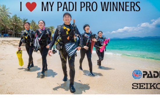 I love my padi pro contest winners