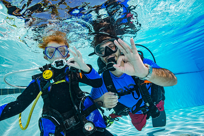 PADI Courses for the whole family